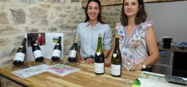 Domaine Cluny à BROCHON, Léa et Camille